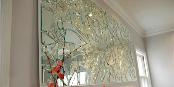 Broken Glass Decorating Ideas